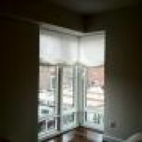 Custom Roman Shade Realaxed Sheer Shade Drapery Shades Curtains Beautiful View New York Nyc Betterte