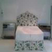 Custom Bed Skirt And Headboard In Same Fabric Beautiful Fabric Beautiful Flora Upholstered Headboard Bettertex New York City Custom Headboard