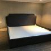 Custom Upholstered King Size Bed Custom Upholstery Custom Bed Custom Upholstered 28 Headboard Nyc Bettertex