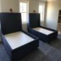 Custom Upholstered King Size Bed Custom Upholstery Custom Bed Custom Upholstered Headboard Nyc Bettertex