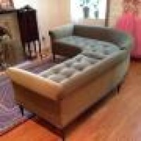 Custom Upholstery Sectional Sofa Tufted Seat Custom Upholstery Re Upholstery Nyc Reupholstery New York Reupholstery Bettertex