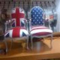 Re Upholstery Flag Chairs Nyc